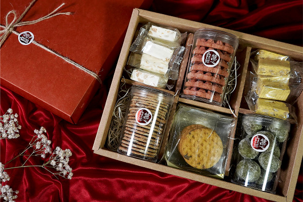 典雅手工餅乾禮盒